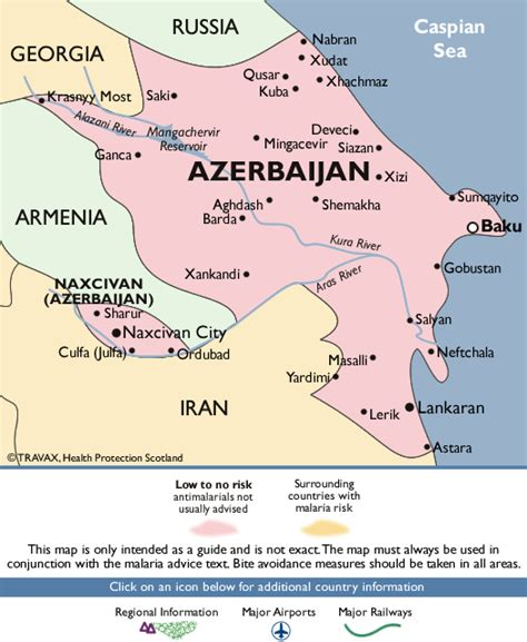middle east malaria map azerbaijan malaria map fit for travel