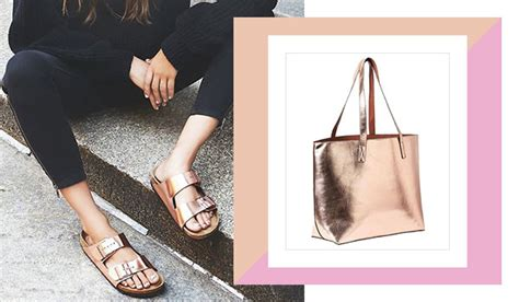8 Ways To Wear Metallics by 6 Easy Ways To Wear Metallics To Work Bebeautiful