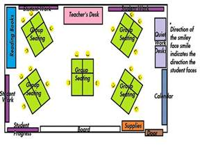 Create a room layout diagrams of classroom seating