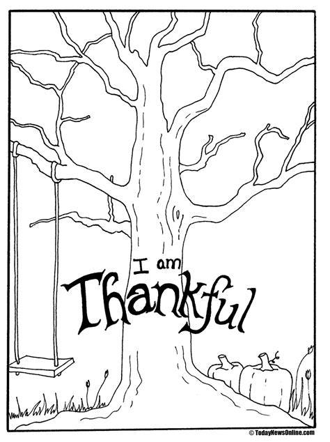 Thankful Tree Template lds activity day ideas thanksgiving tree