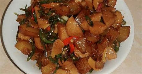 Nesha Bunga tumis kikil masak kecap 138 resep cookpad