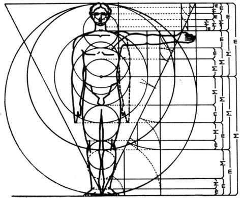 goldener schnitt mensch quadratur und proportion