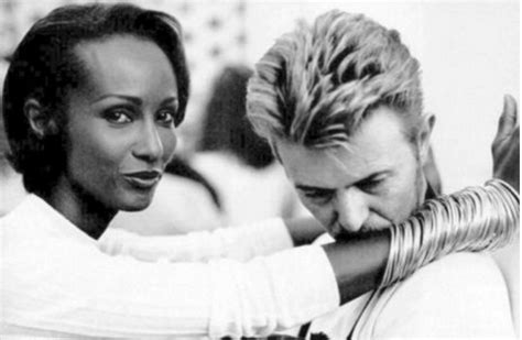 david bowie iman and love story david bowie iman abdulmajid s love story what we seee