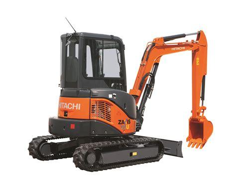 hitachi zero tail swing excavator reduced zero tail swing excavators hitachi underground