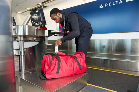delta domestic baggage delta introduces innovative baggage tracking process