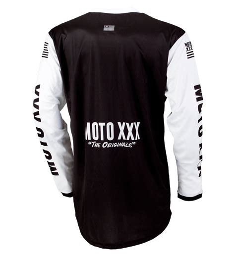 black motocross jersey oneal moto mx motocross jersey black white ebay