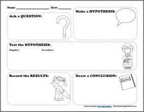 free scientific method worksheet for kids