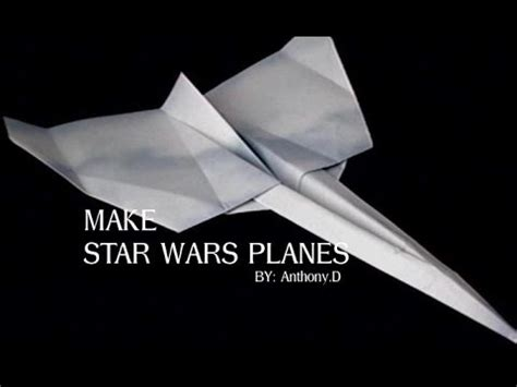How To Make A Wars Paper Airplane - how to make a wars plane origami flying vehicle