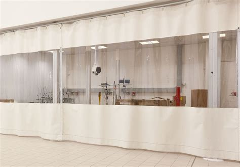 drapery workshop industrial curtains and bodyshop curtains supplied