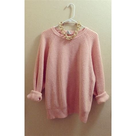 30 Off Sweaters Light Pink Over Sized Knit Sweater From How To Make Sweaters With Lights