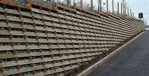 Crib Wall Retaining Wall Design by Permacrib Ireland Bba Certified Timber Crib Retaining