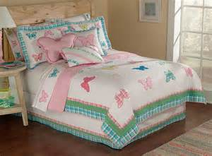 butterfly bedding butterfly plaid quilt set in and sizes for