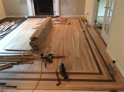 Hardwood Floor Borders Ideas Rendefloors