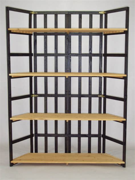 folding display shelves specialty wood products folding shelf display
