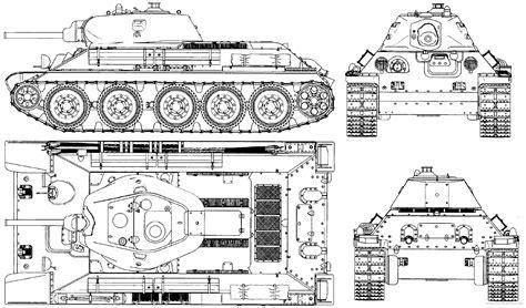 T-34 - World War II Technology T 34 Blueprints