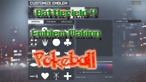 bf4 logo maker battlefield 4 bf4 emblem logo the