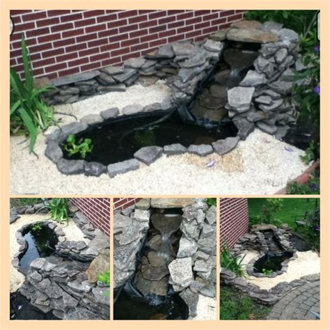 small backyard fish ponds small garden fish pond with waterfall background