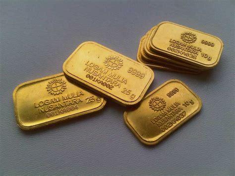 Logam Mulia Emas 24 Karat Antam 50gr harga emas antam 24 karat dan logam mulia hari ini