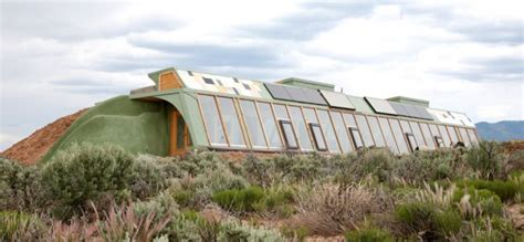 Earth Bermed House Plans by Case Study Earthship The Underground Home Directory