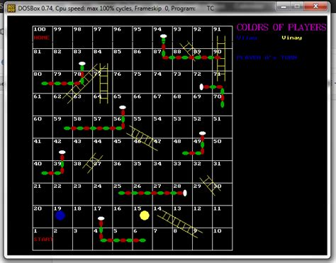 c tutorial snake game in to the programming snakes and ladders game in c