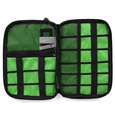 bubm gadget organizer bag portable dis l original black green jakartanotebook