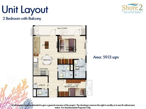 Sm Mall Of Asia Floor Plan by Shore Residences Floor Plan Shore Residences Smdc