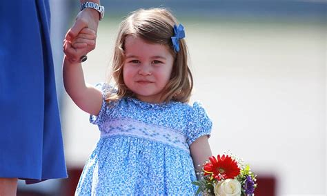princess charlotte princess charlotte shows her impressive manners with a curtsy