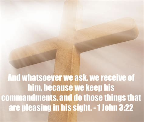 Because We Asked by Eight Bible Verses About Answered Prayers 1 3 22