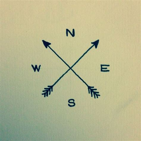 simple arrow tattoo design 25 best ideas about arrow compass on