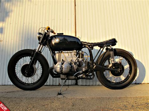 bmw motorcycle cafe racer vintage racers bmw r60 cafe racer