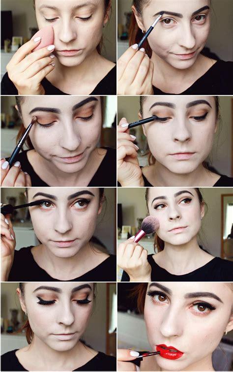 face makeup tutorial face makeup step by step pictures saubhaya makeup