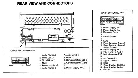 in toyota stereo wiring diagram wiring diagram