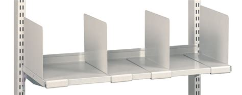 Shelf Partitions by 57 Metal Shelf Dividers Metal Wall Shelf With 3 Dividers