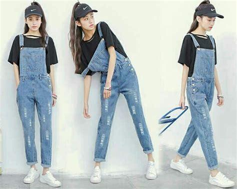 Celana Panjang Denim Wanita Deniz baju celana kodok panjang wanita dewasa model terbaru