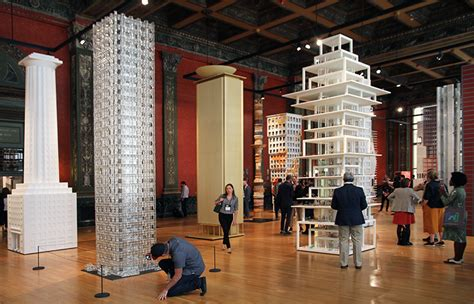 designboom chicago architecture biennial designboom 17 towers form a vertical city at the chicago