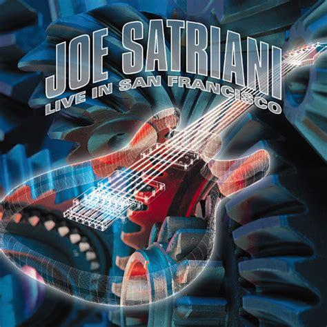 joe satriani discography gt live in san francisco