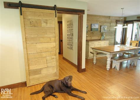 sliding door design for kitchen barn door hardware country kitchen seattle by real
