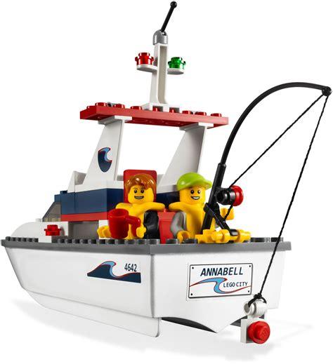 lego deep sea fishing boat lego 4642 fishing boat