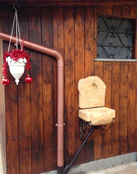 lavello da giardino lavello da giardino braies fontane a muro e lavelli r