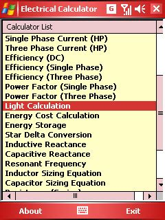 capacitive reactance per phase pocket pc calculator my electrical calculator