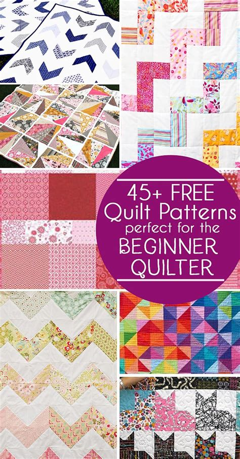 Easy Free 45 free easy quilt patterns for beginners