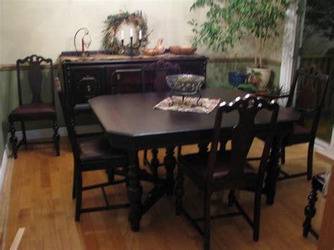 antique dining room set antique walnut dining room set outside