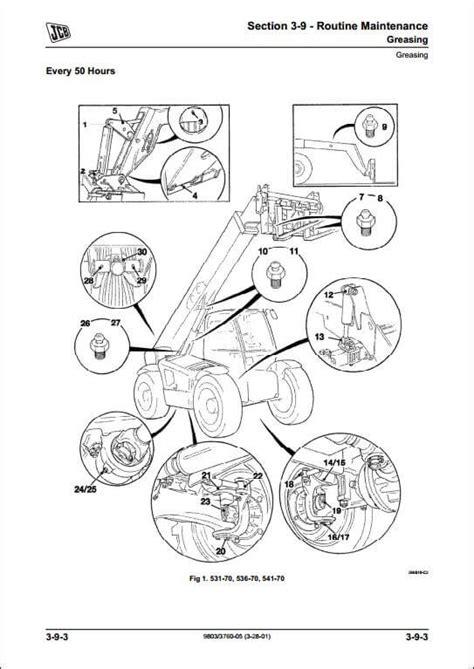 jcb 520 ignition wiring diagram jcb 506c wiring diagram