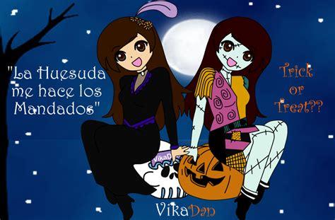 imagenes de halloween o dia de muertos dia de muertos y halloween by vikadan on deviantart