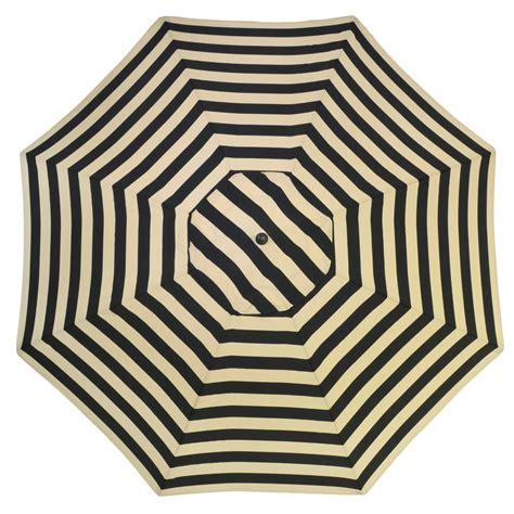 black pattern umbrella plantation patterns 11 ft aluminum patio umbrella in