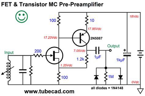 fet transistor gain moving coil pre prelifiers