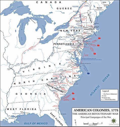american battles map american revolution battles map www pixshark