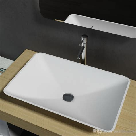 acrylic bar top resin 2017 bathroom furniture acrylic resin stone solid surface