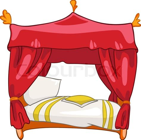 Bett Clipart by Home Furniture Bed Isolated On White Background