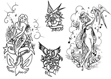 old school tattoo outlines 45 best images about old school angel tattoo outlines on